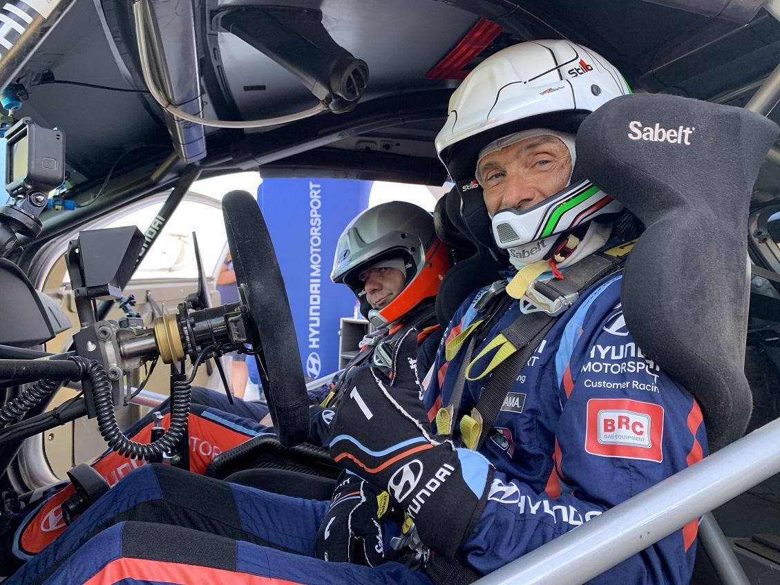 Tarquini prova la Hyundai i20 Coupe WRC