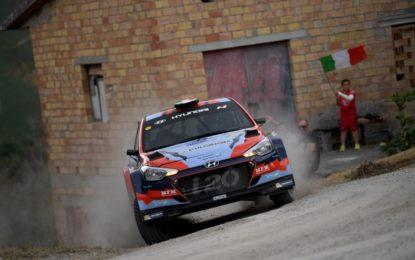 Hyundai Rally Team Italia al Rally di Roma Capitale