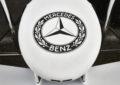Livrea speciale per la Mercedes a Hockenheim