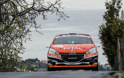 Il Peugeot Competition riparte dal Rally di Roma