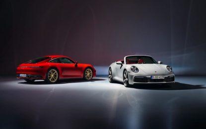 Porsche 911 Carrera Coupé e 911 Carrera Cabriolet
