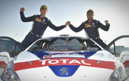 Rally di Roma: un'altra vittoria per Ciuffi e Peugeot 208R2B