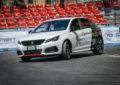 Un test drive d'eccezione a Roma con Peugeot 308 GTi e Andreucci