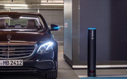 Bosch e Daimler: ok per il parcheggio autonomo senza supervisione