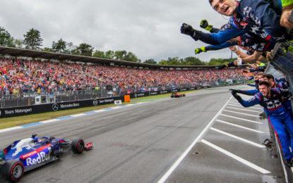 A Hockenheim tornano sul podio Kvyat e la Toro Rosso