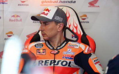 Jorge Lorenzo torna in pista a Silverstone