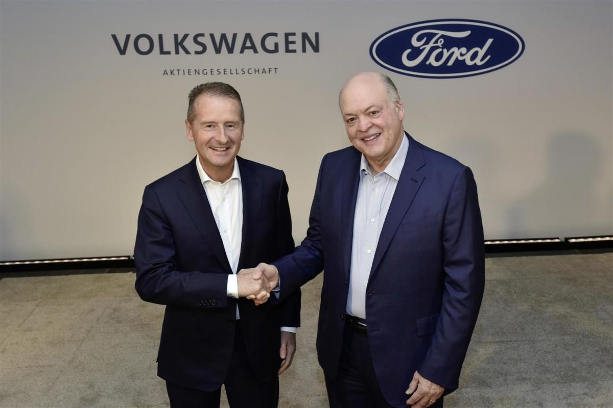 Ford e Gruppo Volkswagen ampliano la partnership globale