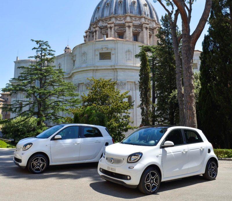 Due smart EQ per la Città del Vaticano