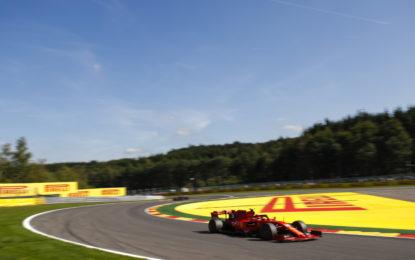 Belgio: le Ferrari dominano il venerdì. Un secondo tra soft e medium