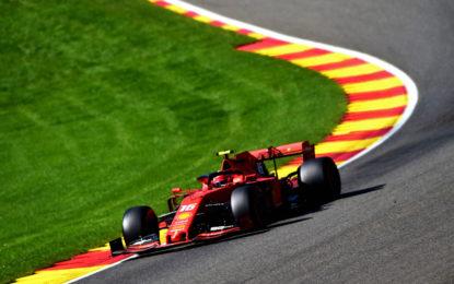 Belgio: buon avvio di weekend per le Ferrari