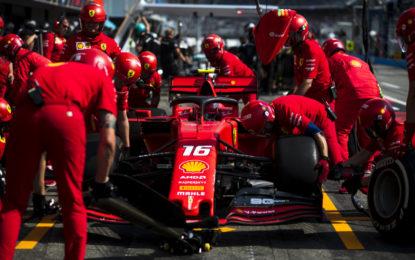 Ferrari: batterie ricaricate e grande motivazione per Spa