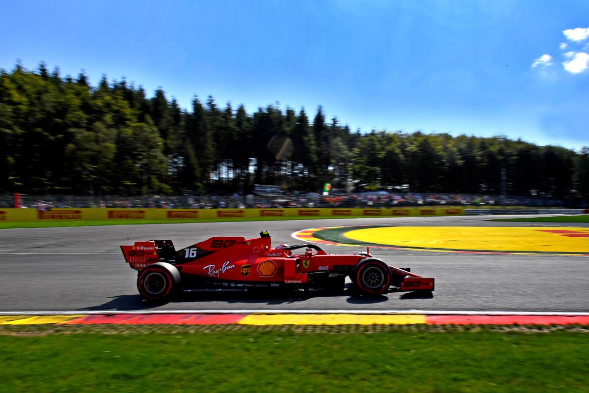 In Belgio pole di Leclerc davanti a Vettel e Hamilton