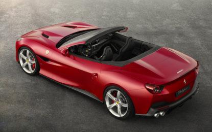 Ferrari Portofino premiata per la riduzione di peso