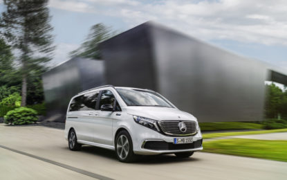 Mercedes-Benz EQV: autonomia di oltre 400 km