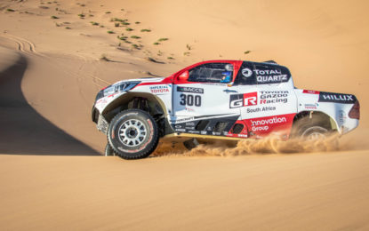 Alonso soddisfatto del test in Namibia con Toyota Gazoo Racing