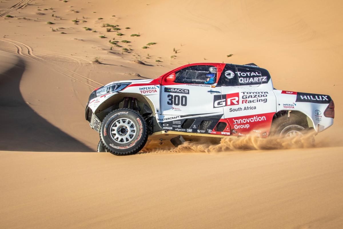 Alonso soddisfatto del test in Namibia con Toyota Gazoo Raci