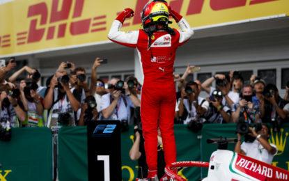 A Budapest la prima vittoria di Mick Schumacher in F2