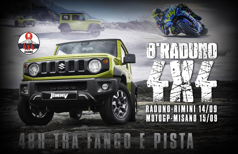 Raduno Suzuki 4×4: off-road e MotoGP