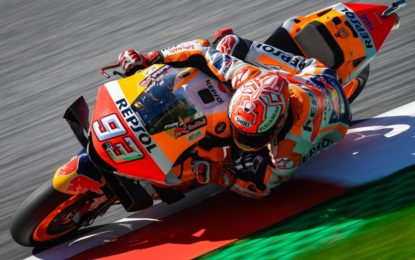 Marquez, Quartararo e Dovizioso nelle qualifiche in Austria