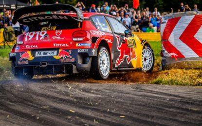 Rally Germania: la C3 WRC sul podio virtuale al termine del primo giorno