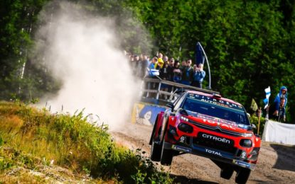 Rally di Finlandia: il primo giorno delle C3 WRC