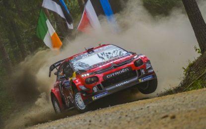 Rally di Finlandia: a fine sabato la C3 WRC di Lappi seconda
