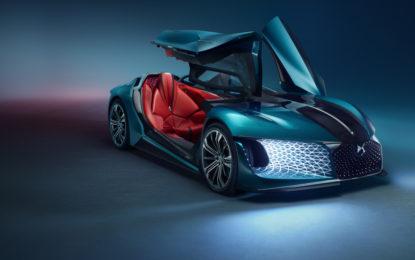 DS X E-TENSE: sognando l'auto del 2035