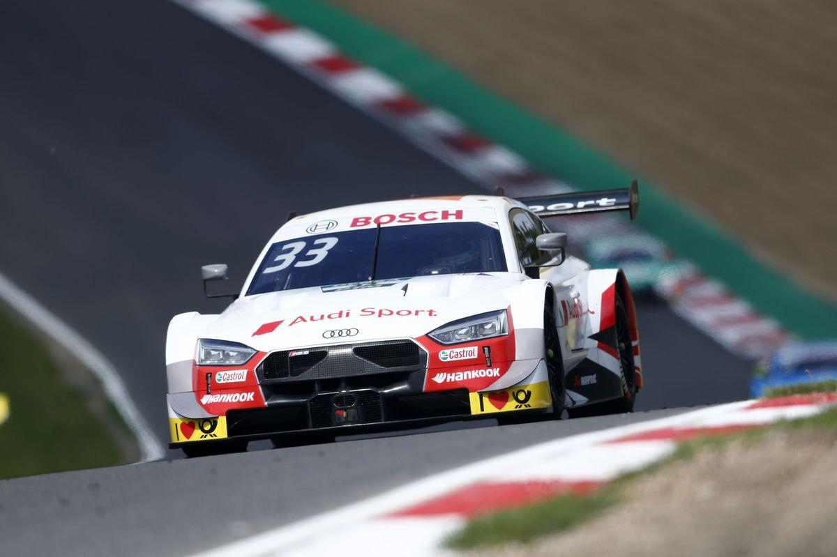 DTM: a Brands Hatch Rast vince Gara 2 e consolida la leadership