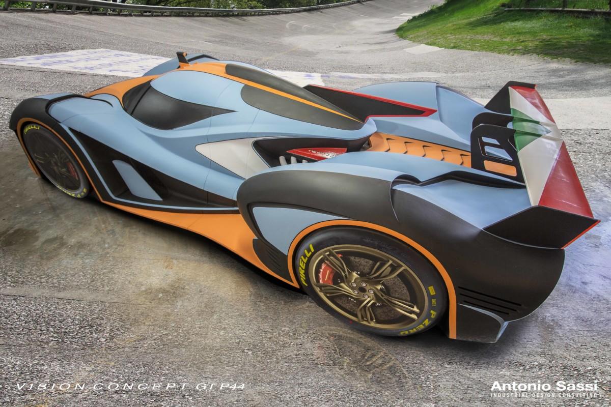 VISION CONCEPT GT P44 V12 YBRID: la hypercar firmata Antonio Sassi