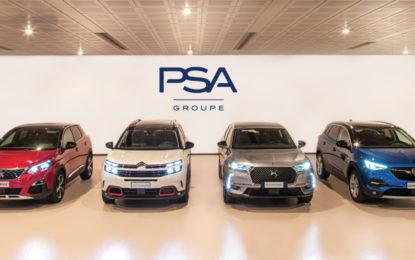 Groupe PSA Italia: tutti i brand in crescita nel 2019