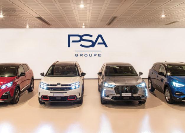 Groupe PSA Italia in crescita nei primi 11 mesi dell'anno