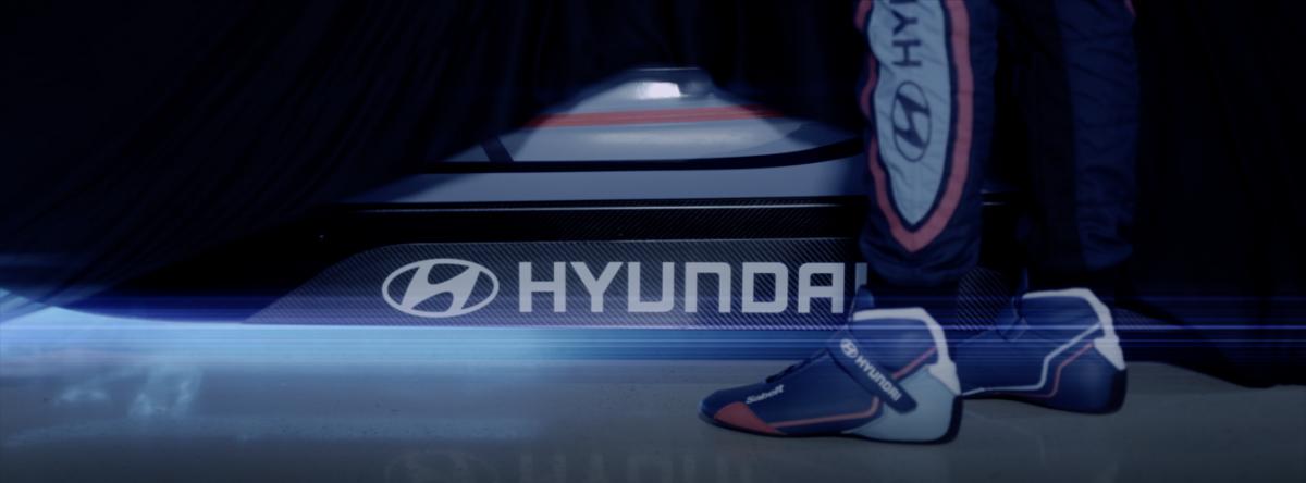 Un'auto da corsa elettrica per Hyundai Motorsport