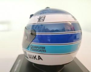 Il casco di Hakkinen in edicola, ricordando Spa 2000