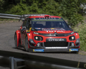 Le C3 WRC pronte alla sfida del Rally di Germania