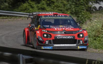 Le C3 WRC pronte alla sfida del Rally di Germania