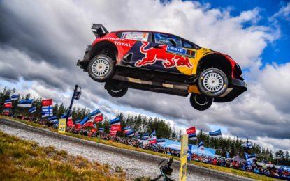 Rally Finlandia: secondo posto per l'equipaggio C3 WRC di casa