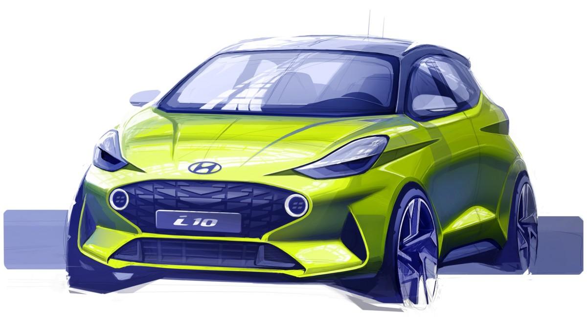 Anteprima: il primo bozzetto di Nuova Hyundai i10