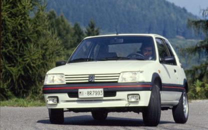 Peugeot 205 GTI e Nuova 208: unite da 130 CV