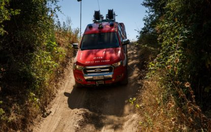 Ford Ranger dedicati al Corpo Nazionale dei Vigili del Fuoco