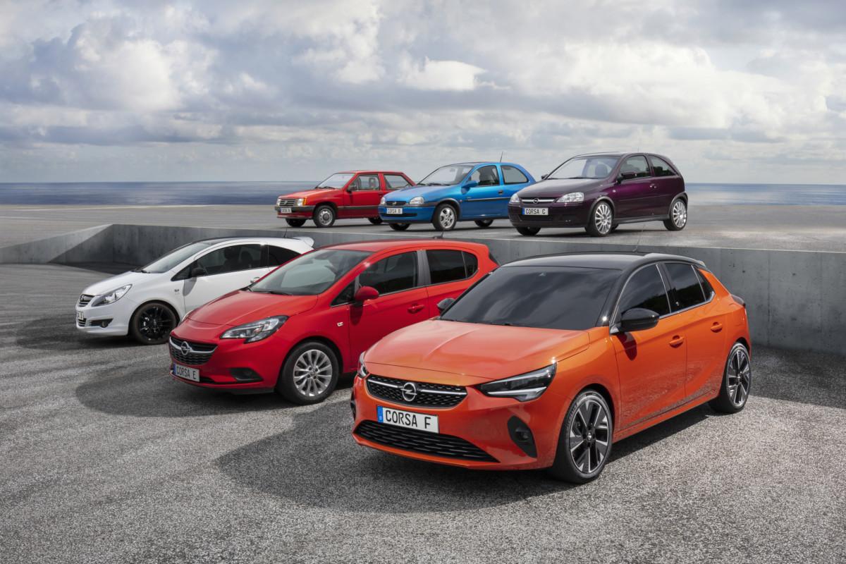 Opel Corsa: dopo 37 anni, inizia il sesto capitolo