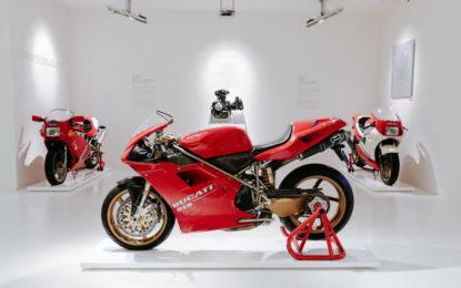 La 916 di Massimo Tamburini al Museo Ducati
