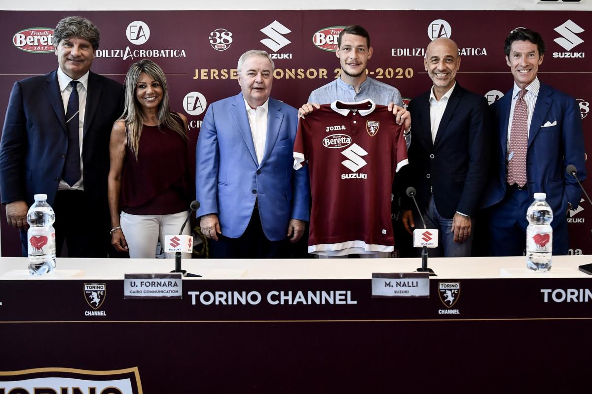 Suzuki Main Sponsor del Torino FC per la stagione 2019/2020