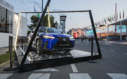Lexus pronta per il red carpet della Mostra del Cinema di Venezia