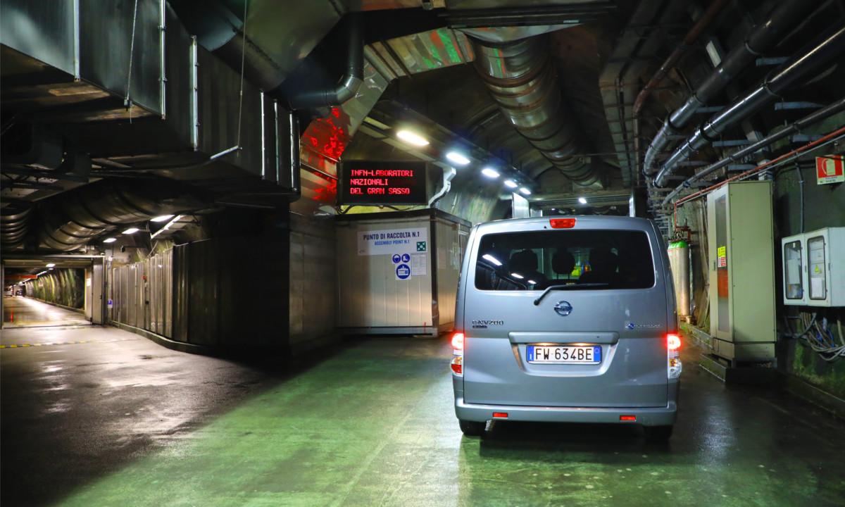 Nissan e Laboratori del Gran Sasso per la sostenibilità