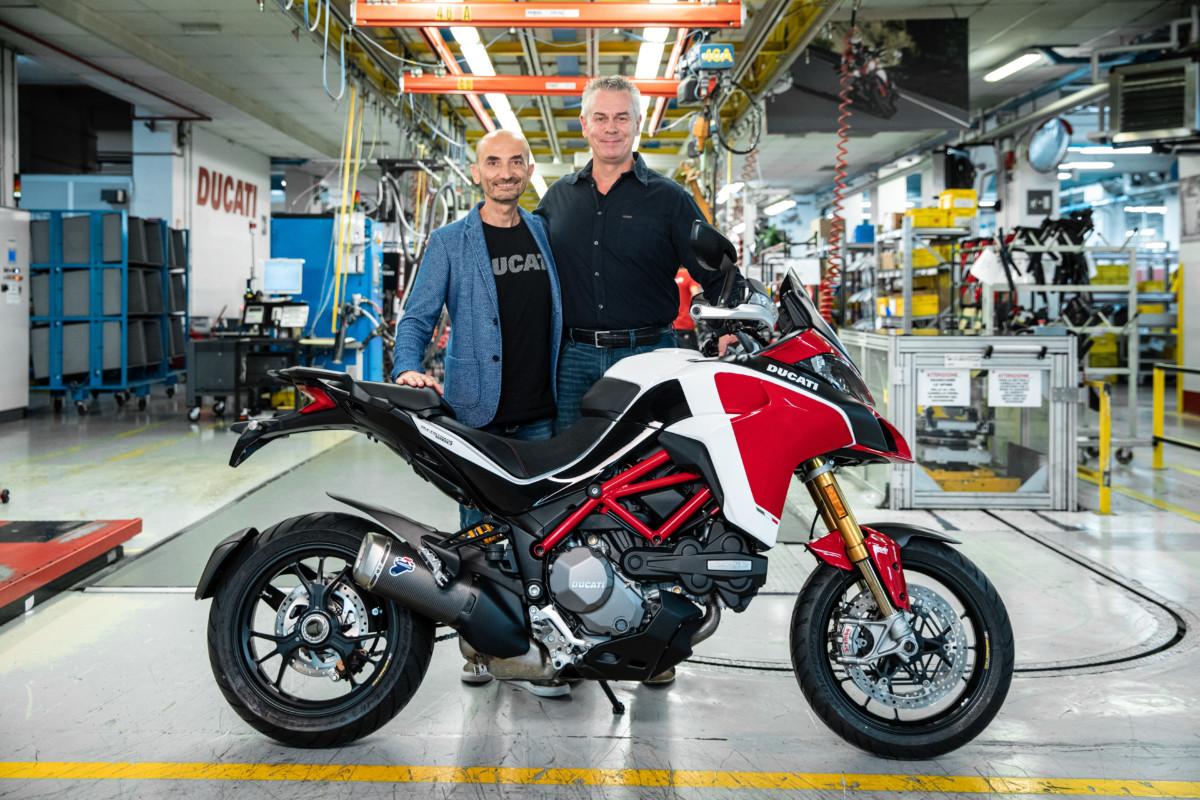 Ducati Multistrada a quota 100.000