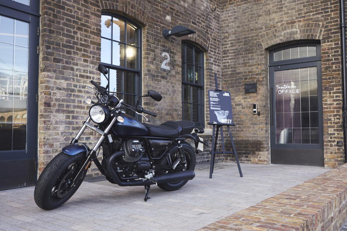 Moto Guzzi al London Design Festival
