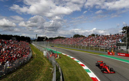 Leclerc si distingue a Monza anche per strategia: unico su soft-hard