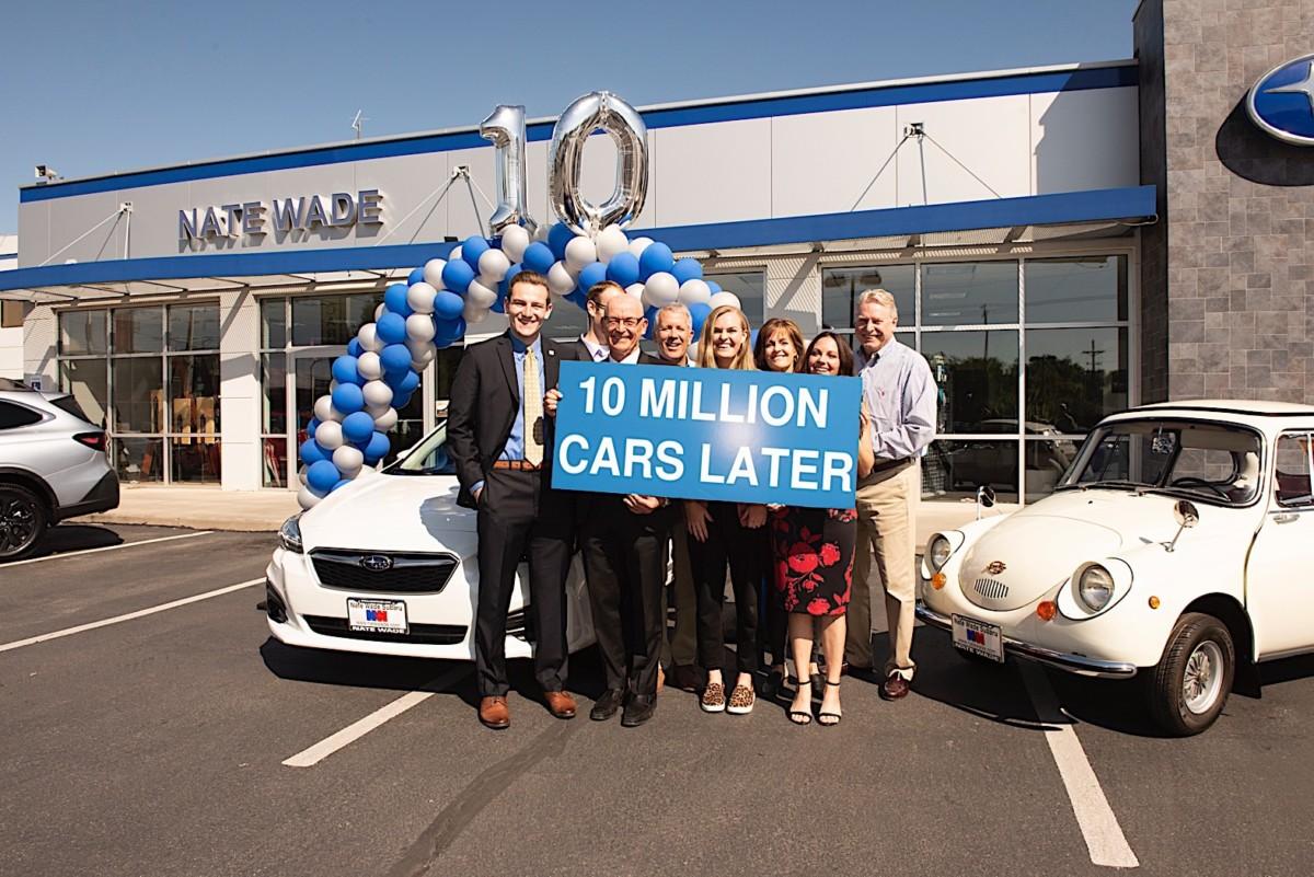 Subaru: 10 milioni di veicoli venduti negli USA