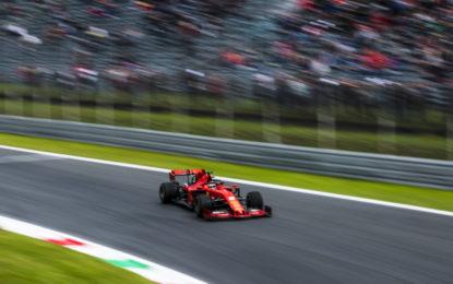 Leclerc e la Ferrari infiammano il venerdì di Monza