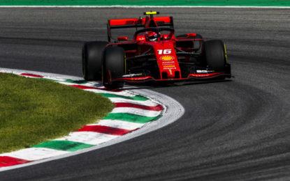Il sabato di Monza è di Charles Leclerc e Ferrari